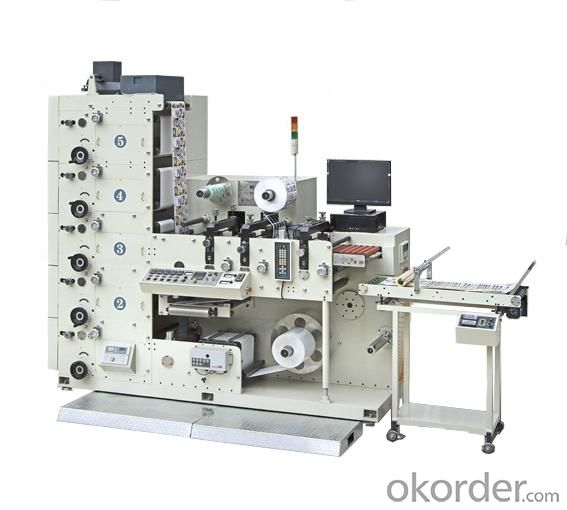 High Quality Automatic Flexo Printing Machine FP520-6C