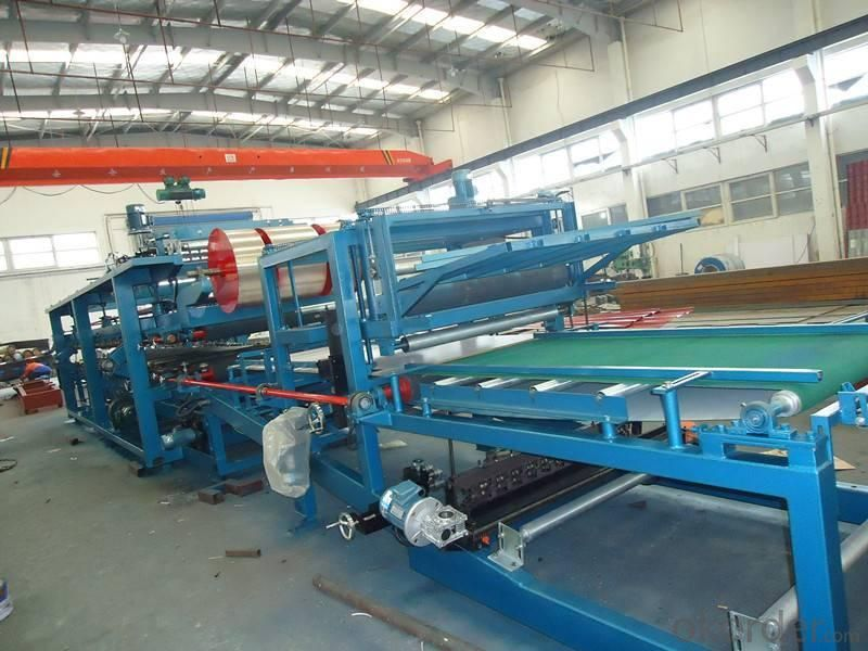 High Pressure Continuous PU Sandwich Panel Production Line