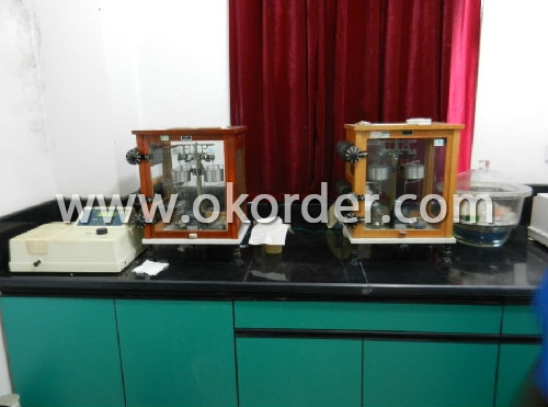 lab of Chrome Oxide Green