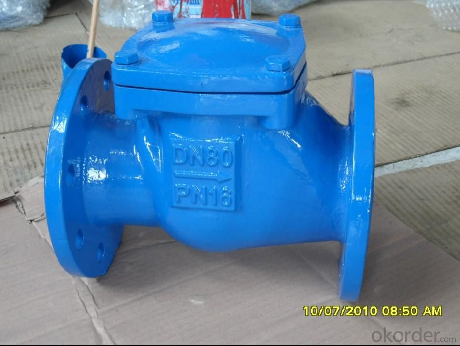 Flange Swing Check Valve for Water, Oil, Gas