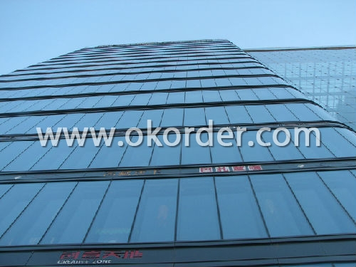 solar low-e glass for construction, windows, etc.