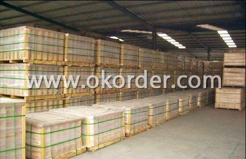 package of acid resistant brick