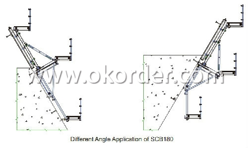 Single-Side Climbing Bracket SCB 180