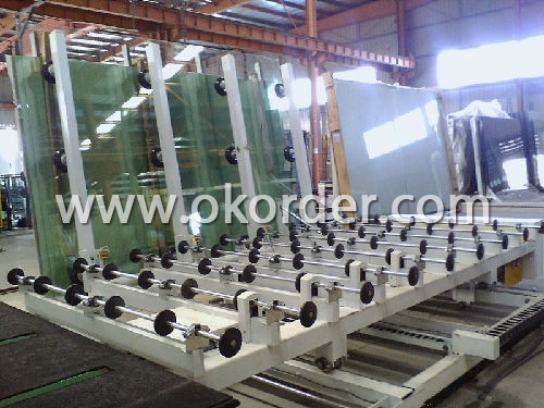 Auto Glass Cutting Machine for production