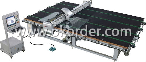 glass cutting machine for the processing