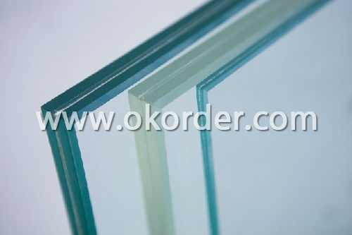 3-12mm low-e glass for curtain walls