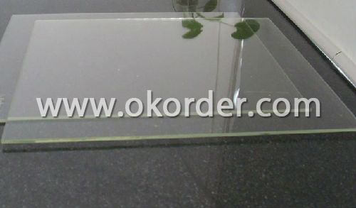 4mm,5mm,6mm,8mm borosilicate fire-resistant glass