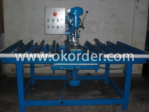 glass drilling machine for drilling holes