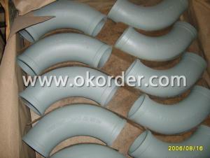 Concrete Pump Elbow R 180  45 Degree  DN125