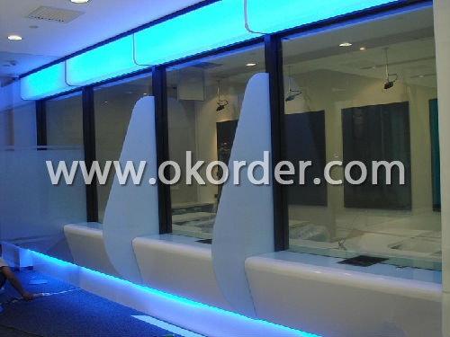 bulletproof glass for bank, stock market, insurance, post, telecom, shooting gallery and valuable culture relics