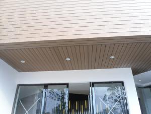 Wood Plastic Composite Wall Panel Cladding CMAX ZW146H25