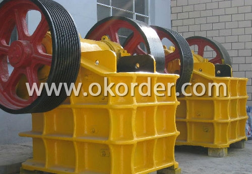 Fine Quality PE Series Jaw Crusher For Primary Crusher