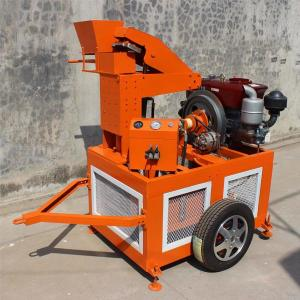 Libya Clay Bricks Machine WT1-20 BLock Machine 3000Pcs/Day