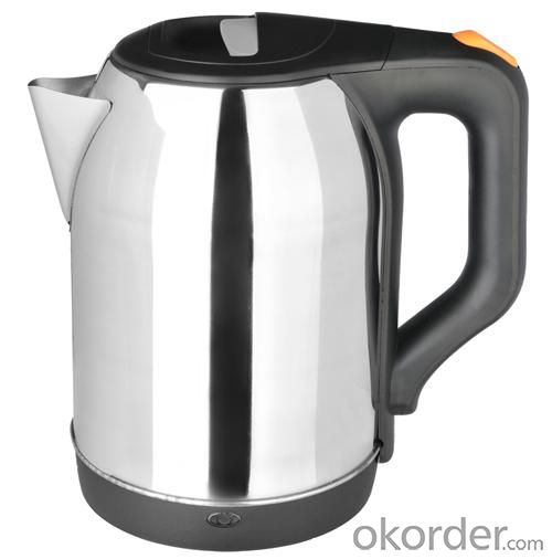 Auto off Electric Stainless Steel Spring Kettle