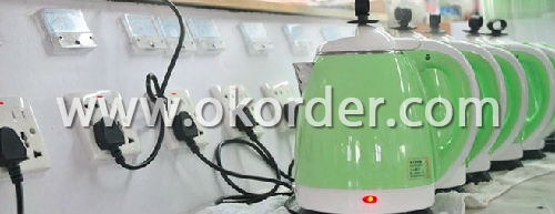 Testing of Supper Light Stainless Steel Electric Kettles