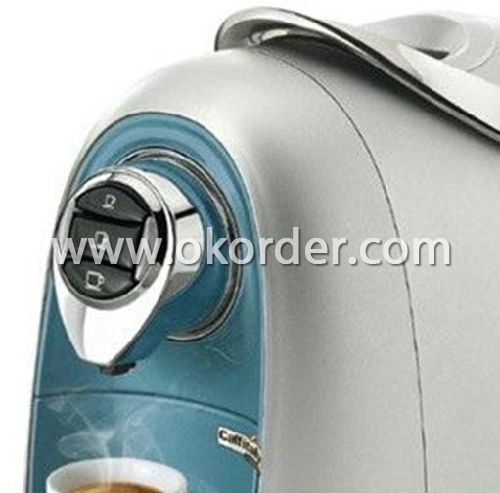 coffee machine with capsule