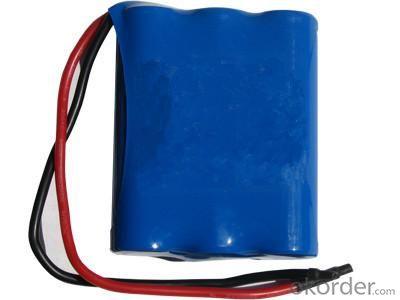 Lithium Battery Pack for LED Flashlight