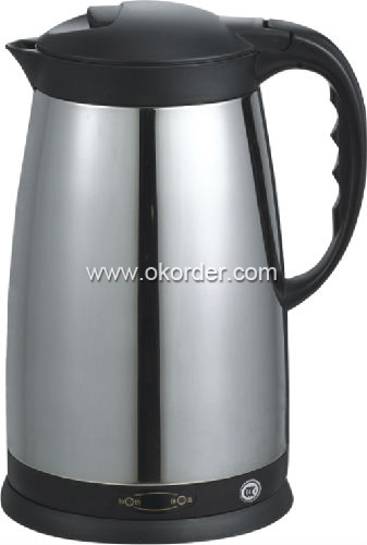 Over Heat Protection Rotational Stainless Kettles