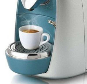 Coffee Machine 'S04 Blue / Silver + 40 Capsules