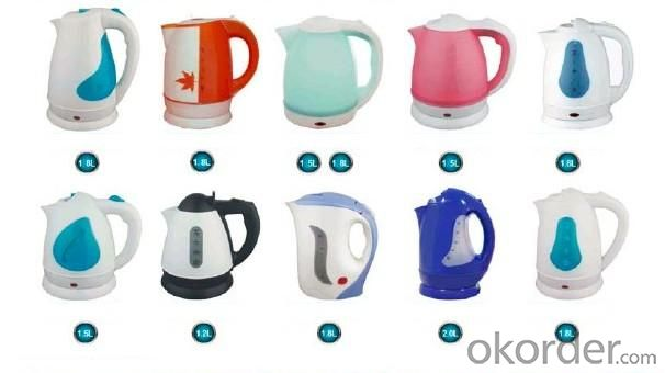 Hot Selling Plastic Body Electric Kettle