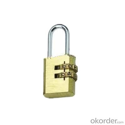 2 Digit Brass Lock Combination PadLock