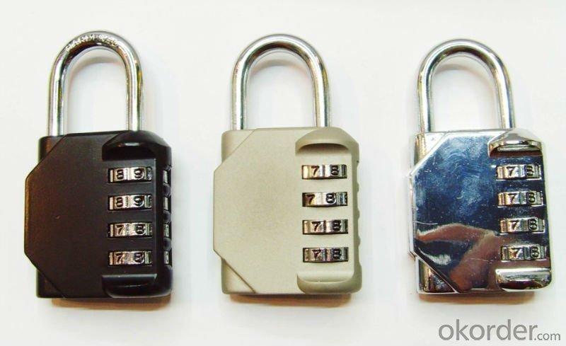 Top Security 4 Digits Resettable Gym Locker Combination PadLock