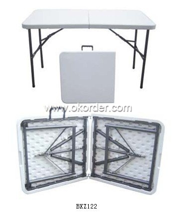 BXZ122 Blow Mold Folding Table