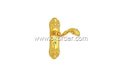 Euro Theftproof Zinc Alloy Mortice Handle Safety Door Lock