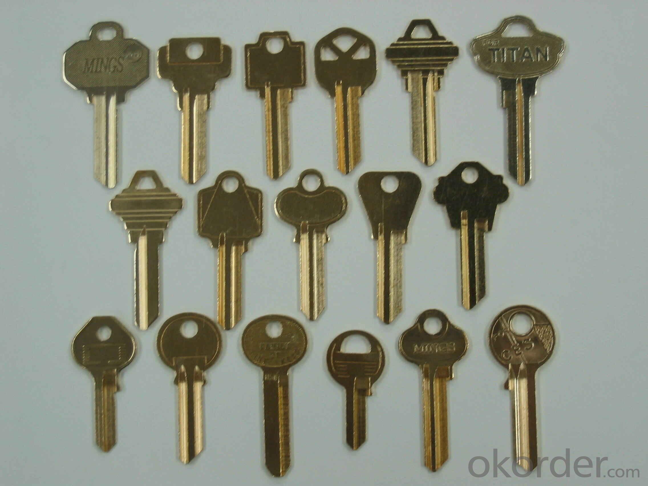 Buy Brass Key Blank Price Size Weight Model Width Okorder Com