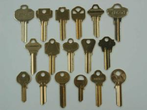 Brass Key Blank