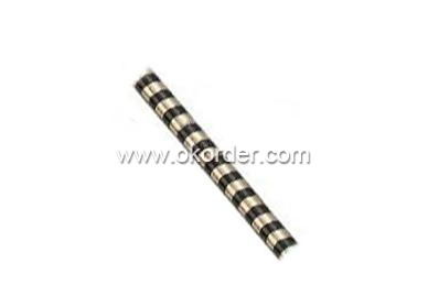 Adhesive Car Decoration Moulding with Black And White Stripe