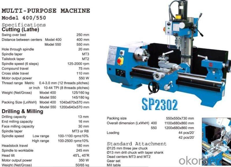 Mini Combo Machine SP2302