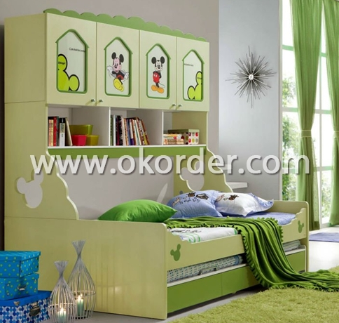 Modern Children Bunk Bed