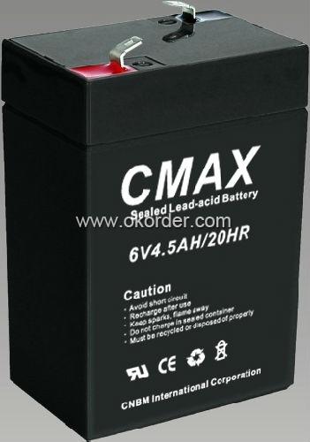 6V4.5AH Sealed lead acid battery