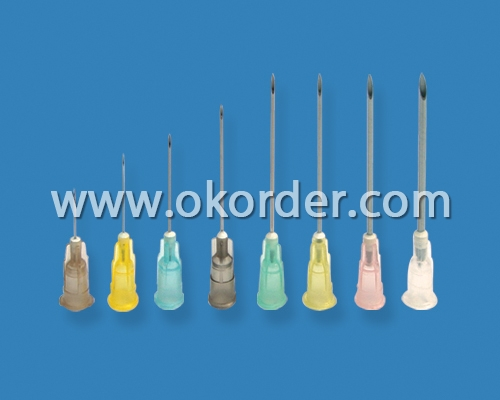 Sterile Disposable Hypodermic Needles