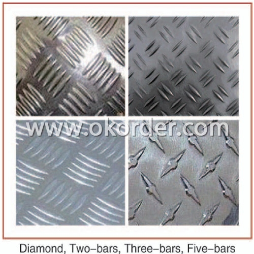 Big Five Bar Treadplate