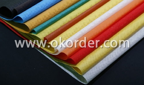Different colors of non woven carpet