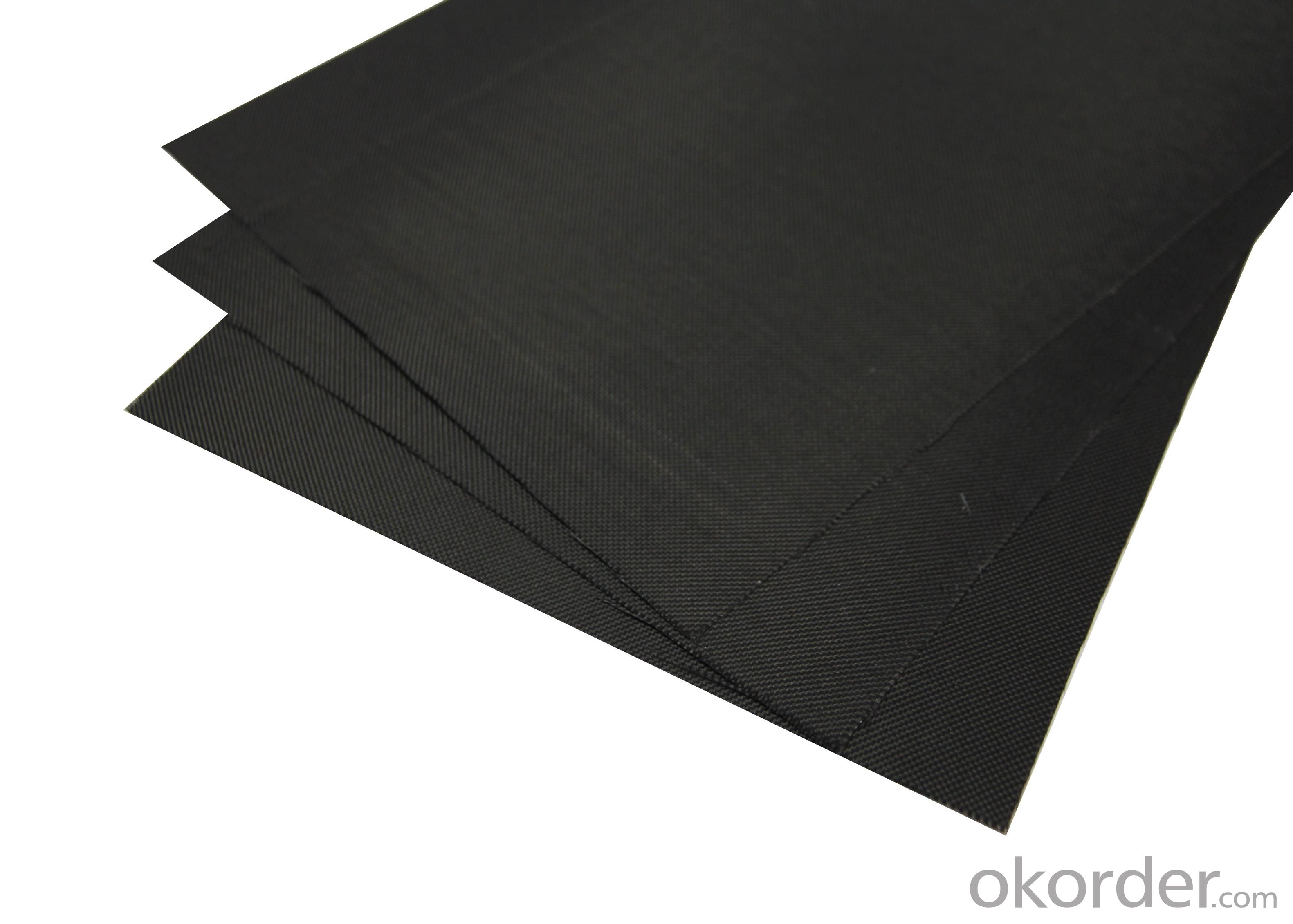 Black Fiber Cloth; BFC-160GSM