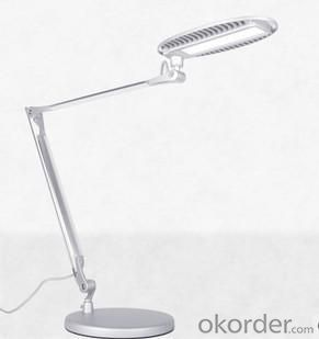 LED Table Lamp Two Branches Round Lamp 12W