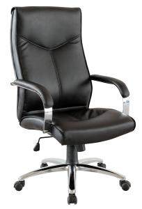 New Design Hot Selling High Back Chrome Armrest High Quality Office Chair