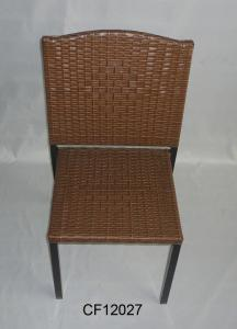 Classical Outdoor Furniture Iron and PE Rattan  Chair