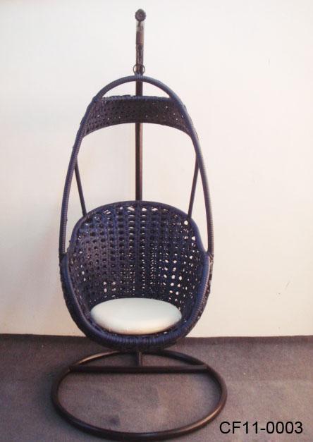 Rattan Leisure Outdoor Garden Furniture Swing Basket