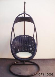 Rattan Leisure Outdoor Garden Furniture Swing Basket