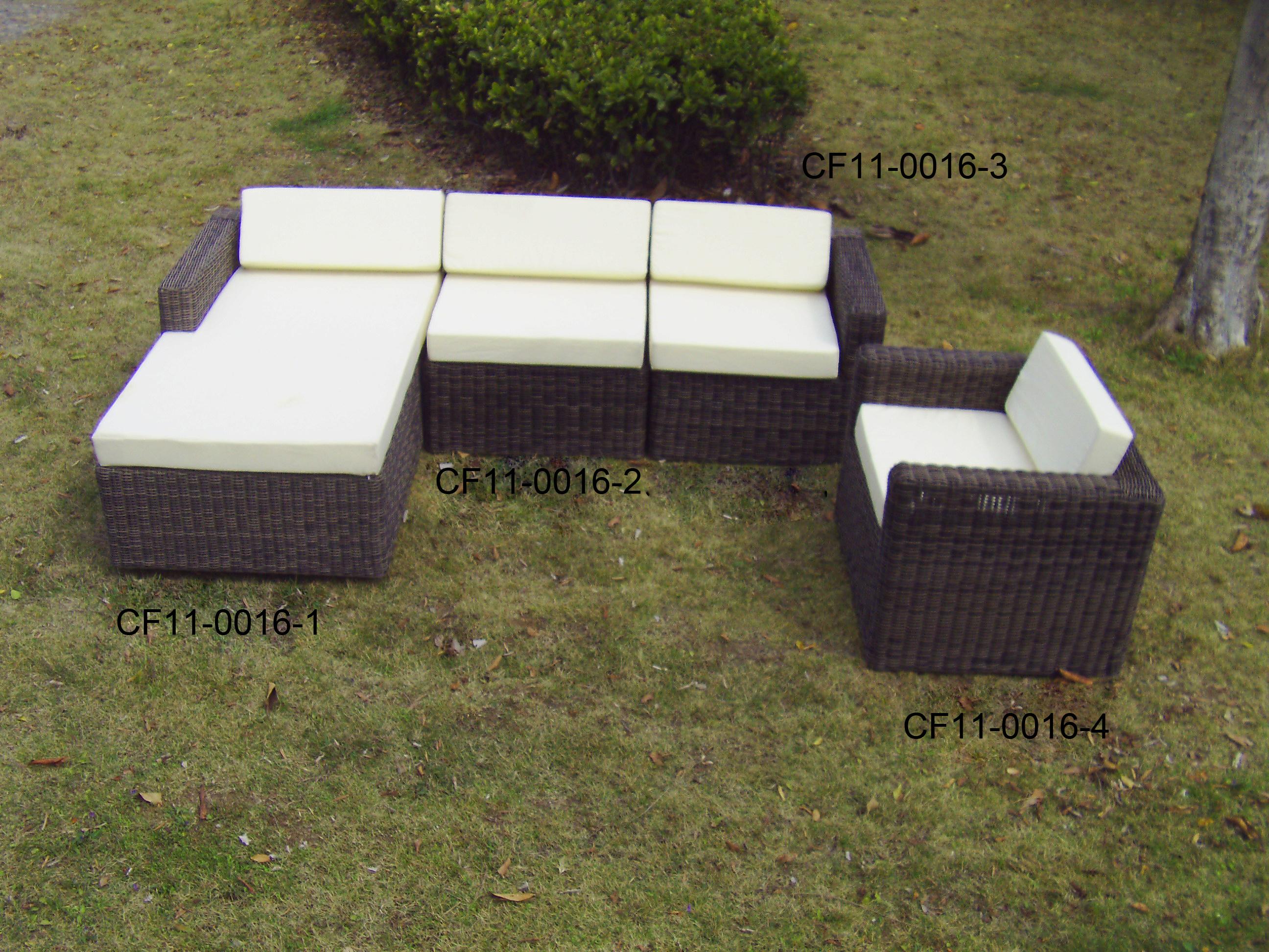 Rattan Modern Outdoor Garden Furniture Sofa Set