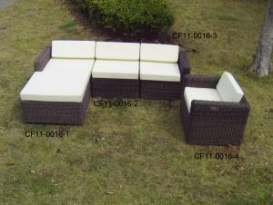 Rattan Modern Outdoor Garden Furniture Sofa Set