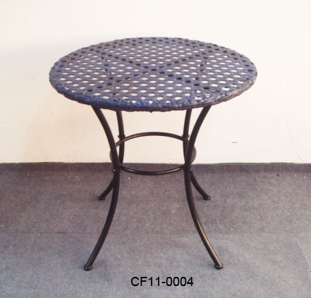Rattan Simple Outdoor Garden Furniture Table