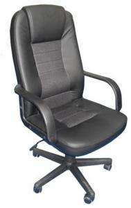 Confortable executive PU Office Chair/320mm Nylon Base/ PP Armrests/Butterfly tilt/Office Furniture