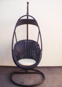 Rattan Aluminum Shelves Outdoor Garden Furniture Swing Basket