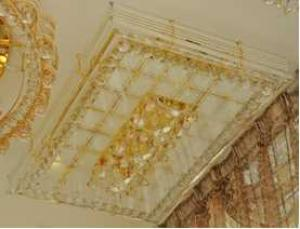 Crystal Ceiling Light Pendant Lights Classic Golden Ceiling Pendant Light 1050*700