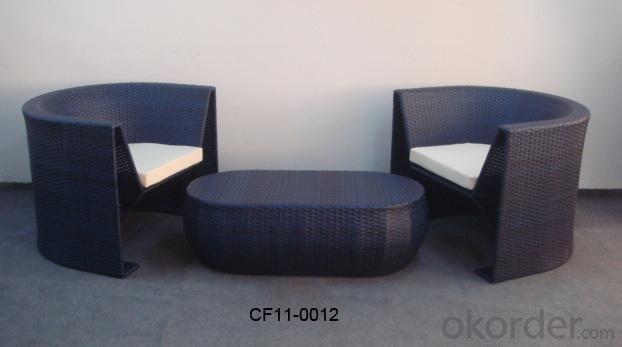 Rattan Modern Outdoor Garden Furniture Table Set